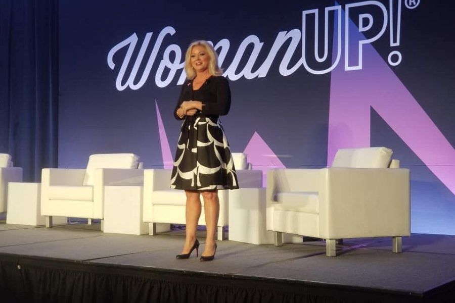 MC for WomanUP! National Conference